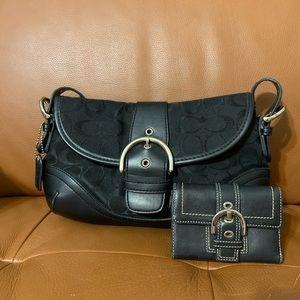 COACH bag + wallet